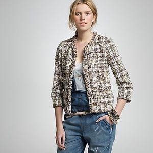 J Crew Collection Dauphine tweed jacket